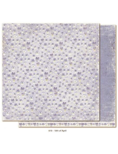 """Maja Design Vintage Spring Basics Cardstock de doble cara 12""""x12"""", 10th of April"""