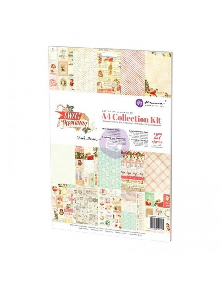 Prima Marketing Collection Kit A4 Sweet Peppermint