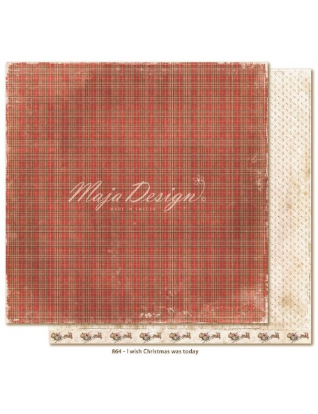 "Maja Design I Wish Cardstock 12""x12"", Christmas was today"