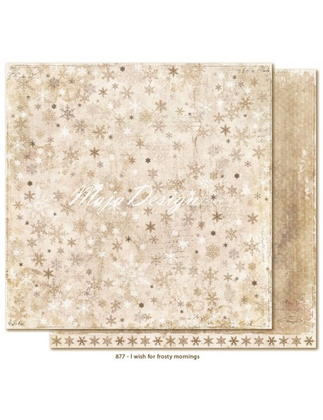 "Maja Design I Wish Cardstock de doble cara12""x12"", for frosty mornings"