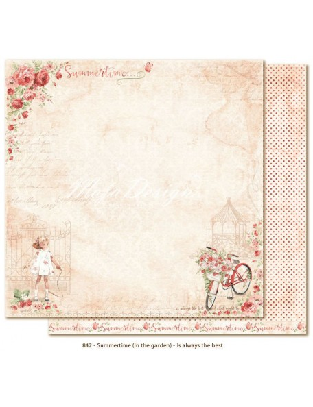 "Maja Design SummertIme in the Garden Cardstock de doble cara 12""x12"", Is always the best"