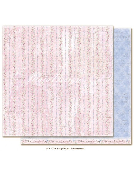 "Maja Design - Sofiero The magnificent Flowerstreet Cardstock de doble cara 12""X12"""