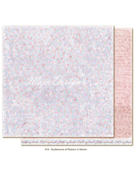 "Maja Design - Sofiero Ecuberance of flowers in bloom Cardstock de doble cara 12""X12"""