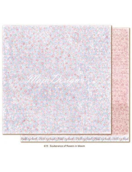 "Maja Design Sofiero Cardstock de doble cara 12""X12"", Ecuberance of flowers in bloom"
