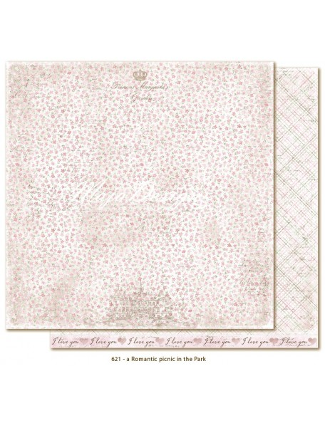 "Maja Design - Sofiero a Romantic picnic in the Park Cardstock de doble cara 12""X12"""