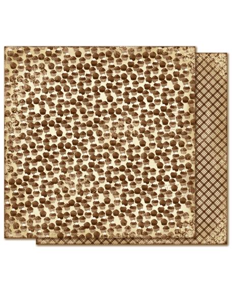"Maja Design - Fika Cardstock de doble cara 12""X12"", Chokladmuffins"