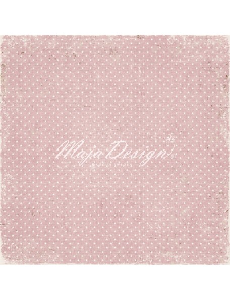 "Maja Design Vintage Baby Cardstock de doble cara 12""x12"", Our little miracle"