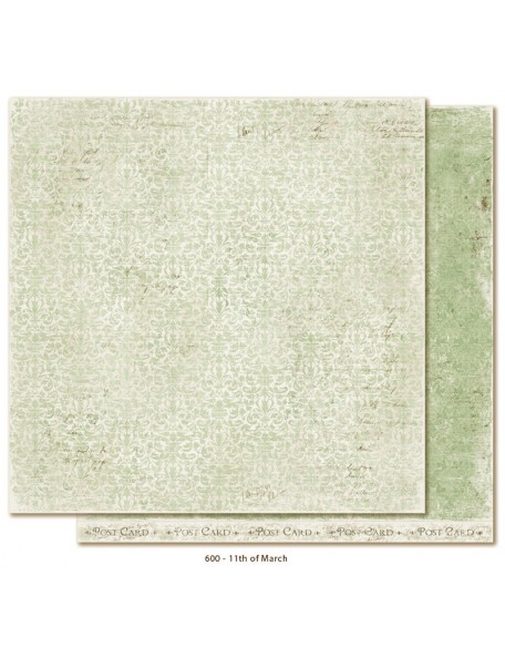 "Maja Design Vintage Spring Basics Cardstock de doble cara 12""x12"", 11th of March"