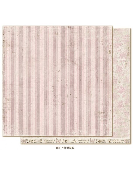 "Maja Design Vintage Spring Basics Cardstock de doble cara 12""x12"", 4th of May"