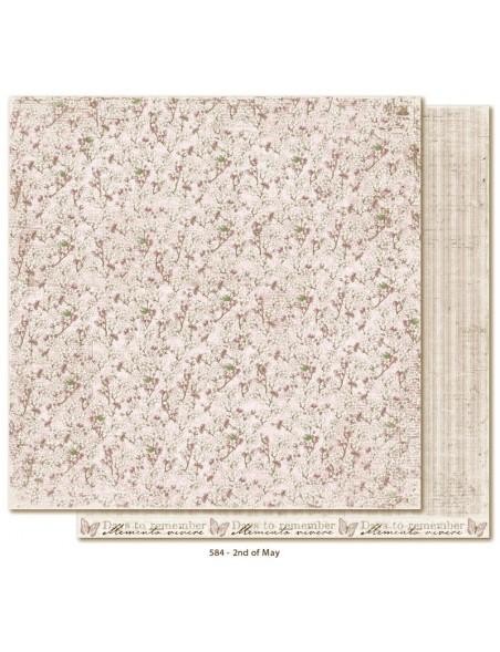 "Maja Design - Vintage Spring Basics Cardstock de doble cara 12""x12"", 2nd of May"