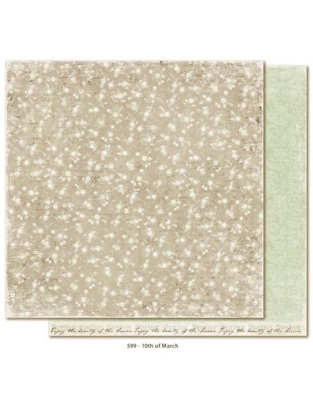 "Maja Design - Vintage Spring Basics Cardstock de doble cara 12""x12"", 10th of March"