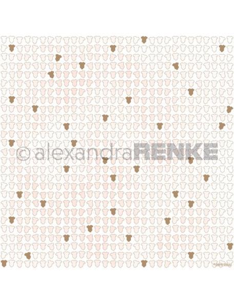 Papel Ropita de Bebe Rosa Dorado/ Babykleidung pink, gold - Alexandra Renke