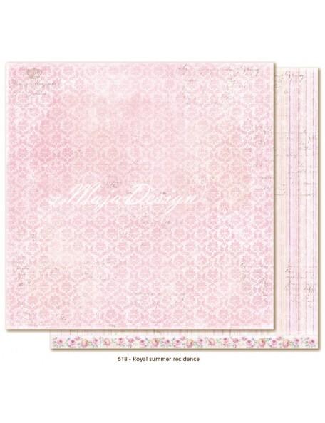 """Maja Design Sofiero Cardstock de doble cara 12""""x12"""", Royal Summer Residence Descatalogado"""