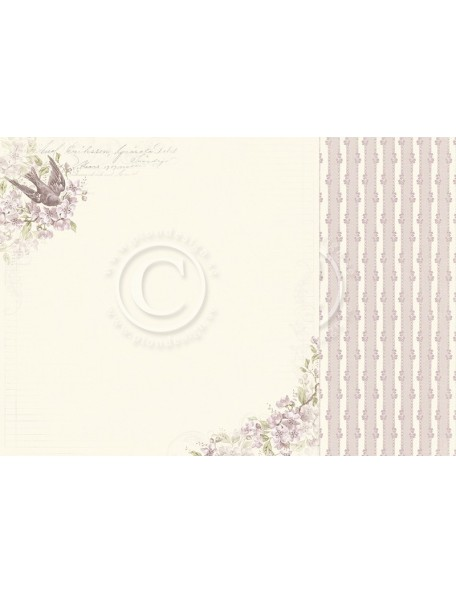 "Pion Design Days Gone By Cardstock de doble cara 12""x12"", Beautiful views"