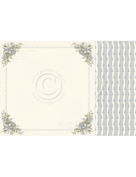 "Pion Design Days Gone By Cardstock de doble cara 12""x12"", Hope and dreams"