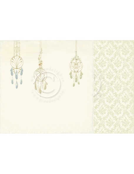 "Pion Design Cardstock de doble cara 12""x12"", Dreamcatchers - The Songbird's Secret"