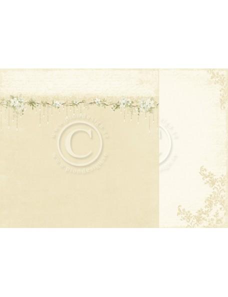 "Pion Design The Songbird's Secret Cardstock de doble cara 12""x12"", Pendants"