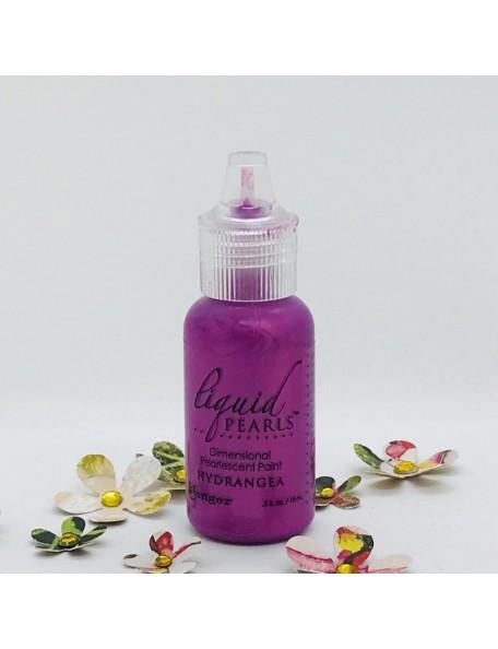Ranger Liquid Pearls Dimensional Pearlescent Paint 5oz, Hydrangea