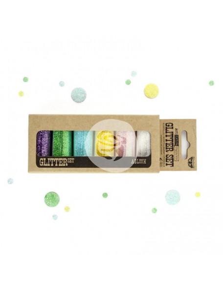 Prima Marketing Finnabair Art Extravagance Glitter Set, Abloom