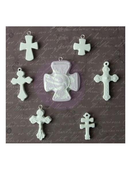 Prima Marketing Relics & Artifacts Archival Cast Crosse Icons