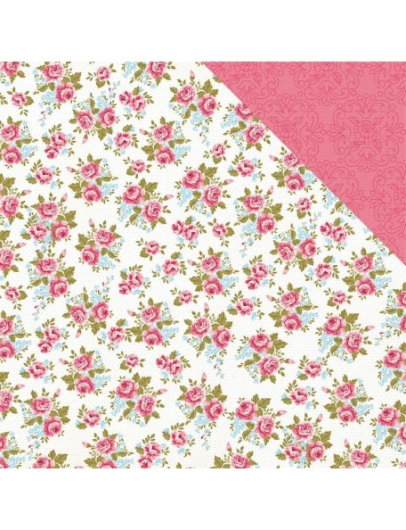 "Kaisercraft Miss Betty Cardstock de doble cara 12""X12"" Sewn"