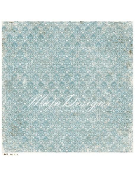 "Maja Design Vintage Summer Basics Cardstock de doble cara 12""x12"", 1945"