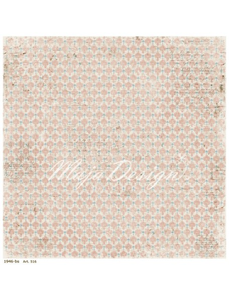 "Maja Design Vintage Summer Basics Cardstock de doble cara 12""x12"", 1946"