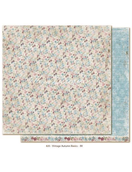 "Maja Design Vintage Autumn Basics no.XII, Cardstock de doble cara 12""x12"""