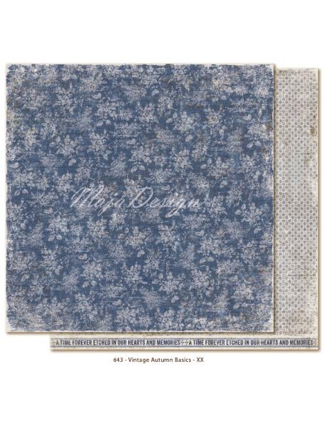 "Maja Design Vintage Autumn Basics no.XX, Cardstock de doble cara 12""x12"""