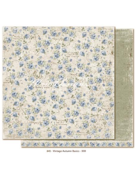 "Maja Design Vintage Autumn Basics no.XXII, Cardstock de doble cara 12""x12"""