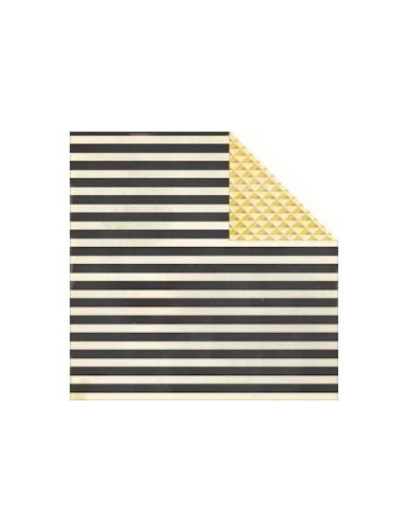 "Crate Paper Boys Rule Cardstock de doble cara 12""X12"", So Rad"