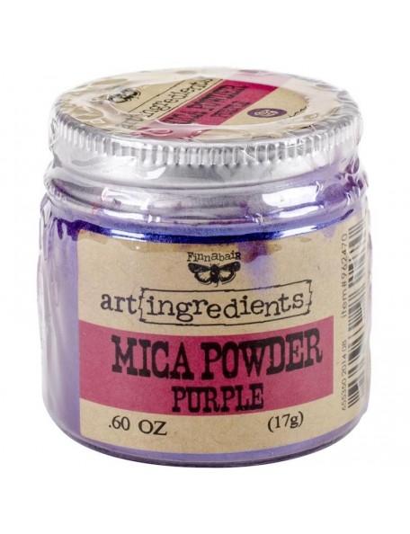Prima Marketing Finnabair Art Ingredients Mica Powder .6oz, Purple