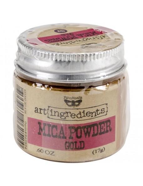 Prima Marketing - Gold Finnabair Art Ingredients Mica Powder .6oz