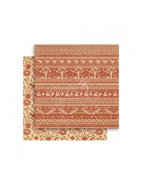 """Graphic 45 Winter Wonderland Cardstock de doble cara 12""""X12"""", Scandinavian Sampler"""