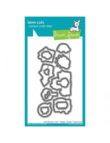 "Lawn Fawn Clear Stamps 4""X6"", Snow Cool"