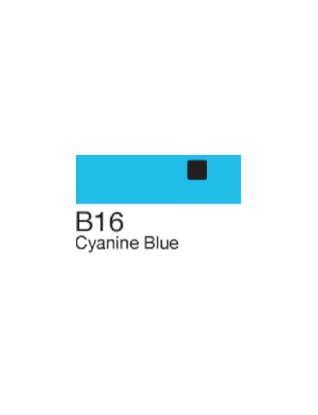 Copic Sketch Markers, Cyanine Blue B16