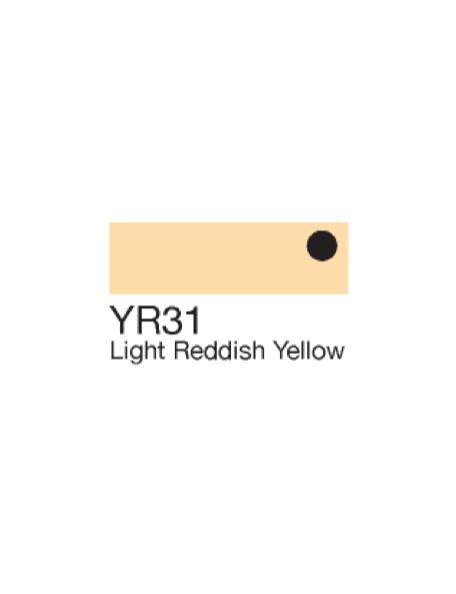 Copic Sketch Markers Light Reddish Yellow YR31