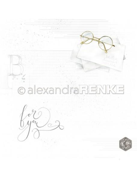 Papel Gafas/ Brille mit Muster - Alexandra Renke