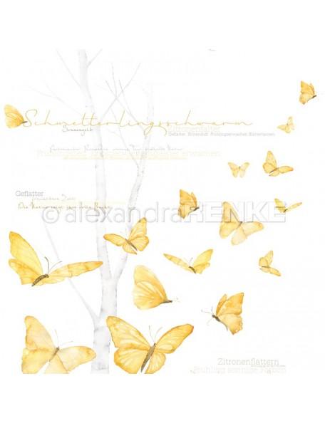 Alexandra Renke Cardstock de una cara 30,5x30,5 cm, Mariposas/Schmetterlingsschwarm
