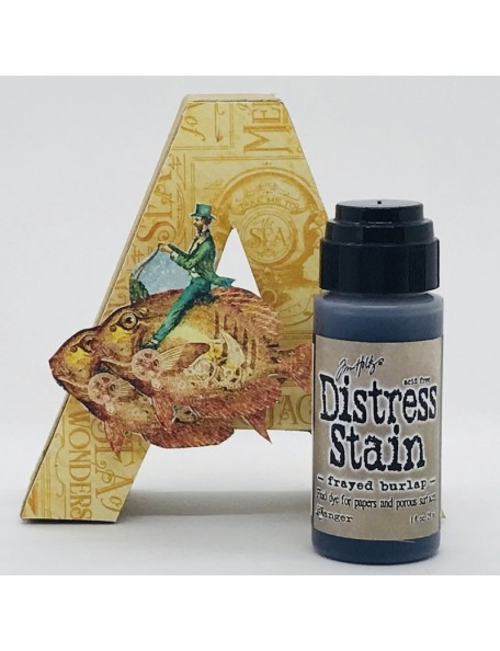 Tim Holtz Distress Stain, Frayed Burlap 1oz