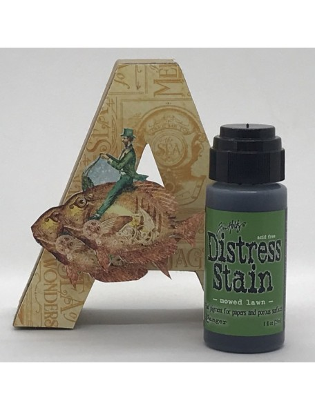 Tim Holtz Distress Stain, Mowed Lawn 1oz