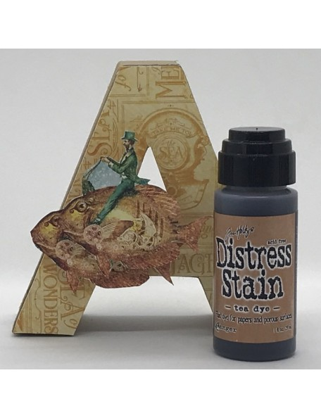 Tim Holtz Distress Stain, Tea Dye 1oz