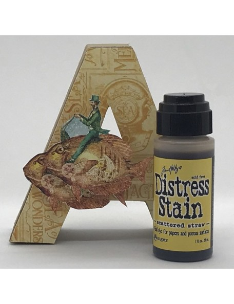 Tim Holtz Distress Stain, Scattered Straw 1oz