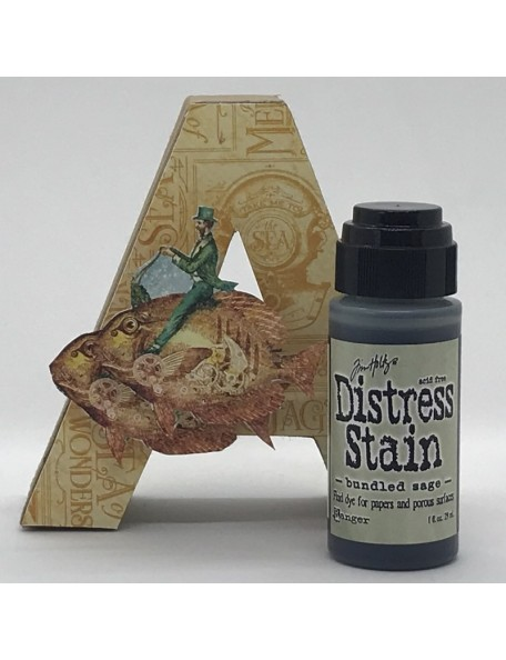 Tim Holtz Distress Stain, Bundled Sage 1oz