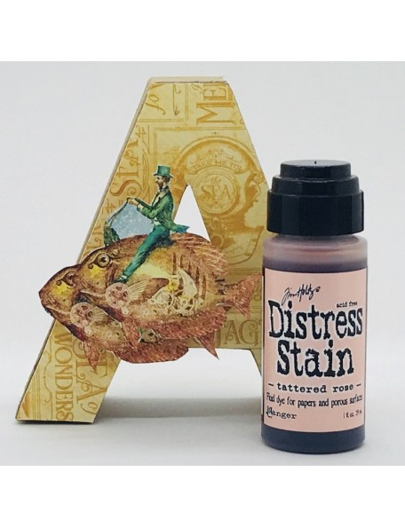 Tim Holtz Distress Stain, Tattered Rose 1oz