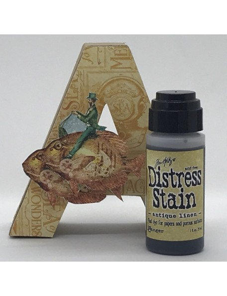 Tim Holtz Distress Stain, Antique Linen 1oz