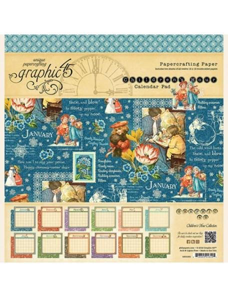 Graphic 45 Children´s Hour Calendar Pad