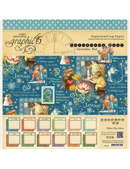 Graphic 45 Children´s Hour Calendar Pad