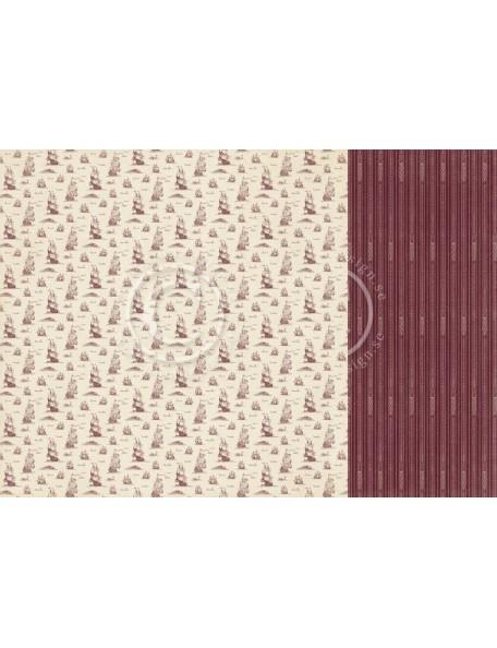 """Pion Design The World Awaits Cardstock de doble cara 12""""x12"""", Explore"""