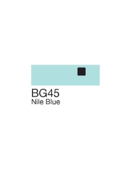 Copic Sketch Markers Nile Blue BG45